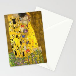 The Lovers Kiss After Klimt Stationery Cards