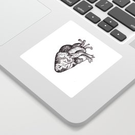 The Human Heart Sticker