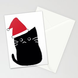 Merry Christmas cat 600 Stationery Cards