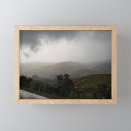Freezing Rain During Another 7 Hour Long Walk Framed Mini Art Print