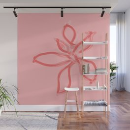 Fluffy lines twisting and turning no. 7 Wall Mural