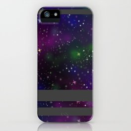 Galaxy Stripe iPhone Case