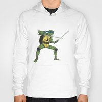 leonardo Hoodies featuring Leonardo by Neal Julian