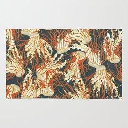 jellyfish slate Rug