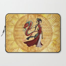 Chinese dragon Laptop Sleeve