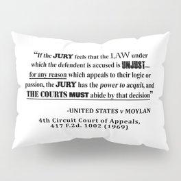 Jury Nullificaton Case Law Quote Pillow Sham