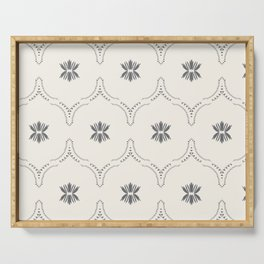 WILDFLOWER JASMIN GREY Serving Tray