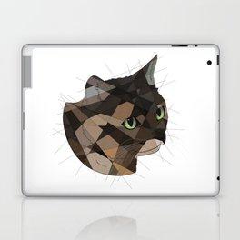 Tortie Cat Laptop & iPad Skin