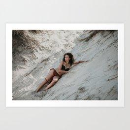 Amazon Woman II Art Print