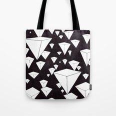 snowing pyramids II Tote Bag
