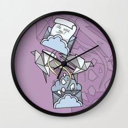 Lettere d'addio Wall Clock
