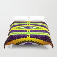 brazil Duvet Covers featuring BRAZIL CUP by Chrisb Marquez