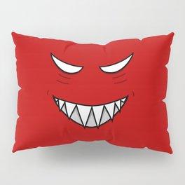 Evil Grin Evil Eyes Pillow Sham