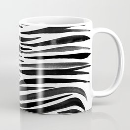 Pandanus Bark - Black Coffee Mug