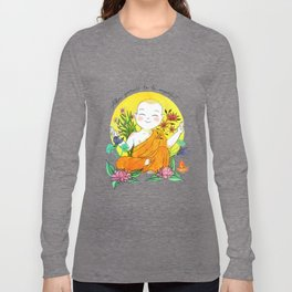 The Buddhist Monk Long Sleeve T-shirt