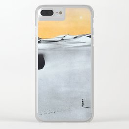 You're Lost Clear iPhone Case