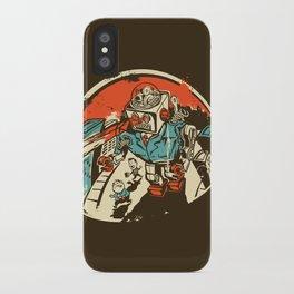 Mechanical Mayhem iPhone Case