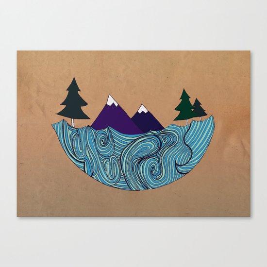Pacific NorthFresh Canvas Print