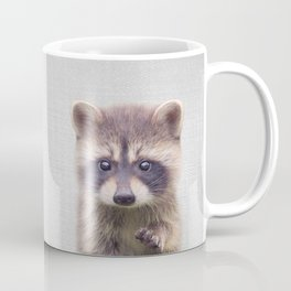 Raccoon - Colorful Coffee Mug