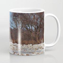 Old Glory on Ice Coffee Mug