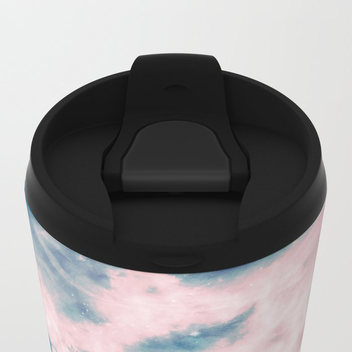 Aerial Sea Metal Travel Mug