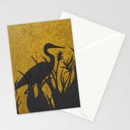 Heron on Lake of the Isles, Minneapolis, Minnesota Stationery Cards