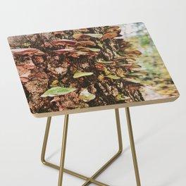 Rainbow Mushroom Fungi Side Table