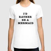 mermaid T-shirts featuring MERMAID by Trend