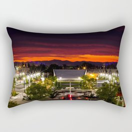 City scape /Medford OR Rectangular Pillow