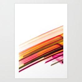 Fast Forward Abstract Artwork Art Print