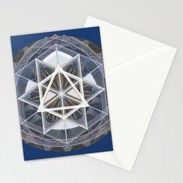 Merkaba Mandala Indigio Vision Print Stationery Cards