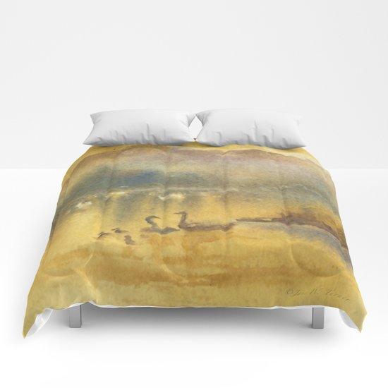 Golden Sunrise Comforters