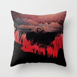 Dante's Inferno: Circle of Violence Throw Pillow