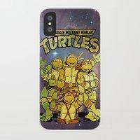 teenage mutant ninja turtles iPhone & iPod Cases featuring Teenage Mutant Ninja Turtles by Nerdy Girl Swag