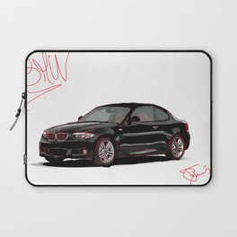 David Toms Car Laptop Sleeve