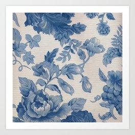 Floral V3 Art Print