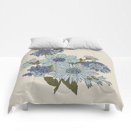 Dorchester Flower 2 Comforters