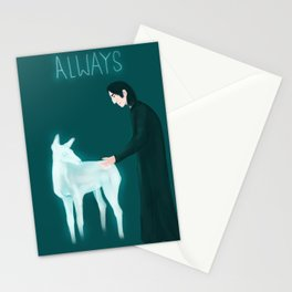 Snape - Always Stationery Cards