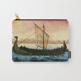 Drakkar, watercolor Carry-All Pouch