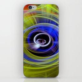 Space twirls iPhone Skin