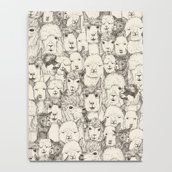 just alpacas natural Notebook