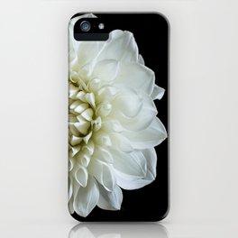 Dahlia Rhonda Flower iPhone Case