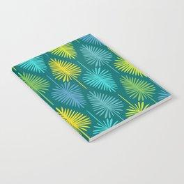 Retro Spring Nature Print II Notebook
