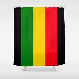 Rastafari Colors Shower Curtain