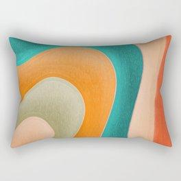 Abstract Pastel Pattern Rectangular Pillow
