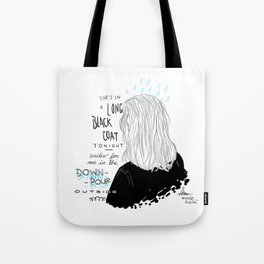 Jet Pack Blues Tote Bag