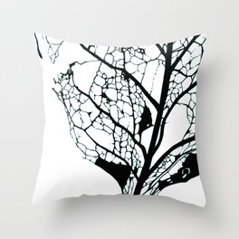 Decomposing 2 Throw Pillow