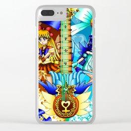 Sailor Mew Guitar #23 - Sailor Venus & Mew Minto Clear iPhone Case