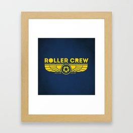 Roller Crew Framed Art Print