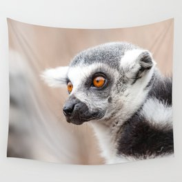 Ring-tailed lemur Wall Tapestry